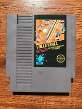 Volleyball Black Box 5 Screw Version Nintendo NES Game - TESTED - Fast Shipping