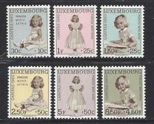 LUXEMBOURG - B216 - B221 - MH - 1960 - PRINCESS MARIE-ASTRID