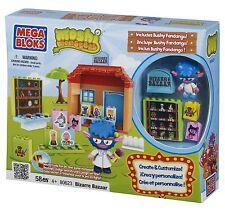Mega Bloks Moshi Monsters Bizarre Bazaar Play Set 80623 - New in Box