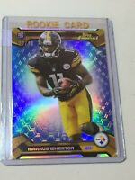 F42909 2013 Finest Blue Refractors Marcus Wheaton RC Steelers /99