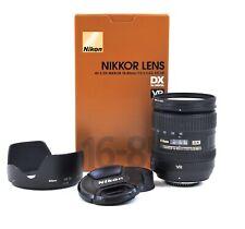 Nikon AF-S Nikkor 16-85mm 1 :3 .5-5.6 G Ed Dx VR