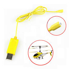 RC Helicopter Syma S107 S105 USB Mini Charger Charging Cable Parts Yellow