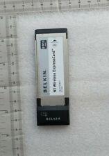 Belkin N1 Wireless Notebook Card Ver.1114yy   F5D8071.