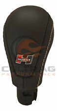 2012-2015 Camaro Genuine GM Hurst Leather Shift Knob Stone Stitching 24261468