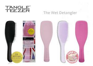 Tangle Teezer The Wet Detangler Hairbrush Slim Handle Brush FREE POST  UK Seller