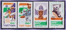 VIETNAM N°955C/955F** JAWAHARLAL NEHRU, 1989 Vietnam 1934-1937 INDIA 89 MNH