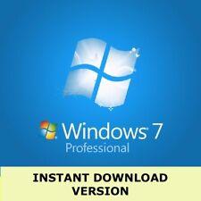 Microsoft Windows 7 Professional VOLL KOMPLETT Version 32 & 64 Bit Product Key