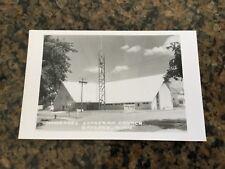 Vintage 1950s Postcard RPPC MN Immanuel Lutheran Church Gaylord Photograph