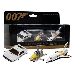 James Bond Corgi Air Sea & Space Collection Die-Cast Metal Models Moonraker 007