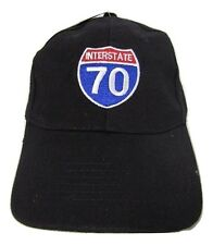 United States Interstate 70 Highway Road American Original Embroidered Cap Hat