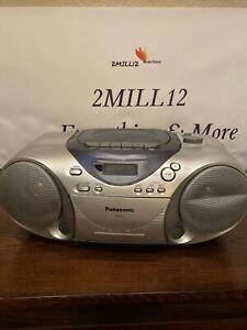 Panasonic Portable CD System Model RX-D14. See description.
