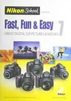 Nikon School DVD - Fast, Fun & Easy 7 for D3000, D3100, D5000, D51 - VERY GOOD