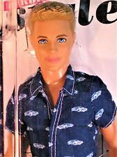 "Ken Fashionistas 2013 Doll Blue Eyed-Blonde Hair ""very minty"" (Nrfp)"