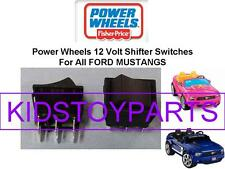 2 NEW! Fisher Price Power Wheels Ford Mustang Shifter Rocker Switch 00801-1775