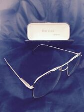 Authentic ANNE KLEIN Eyeglass Metal Frame *Made in Italy*  Glasses Retro  +Case