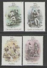AUSTRALIA SG774/7 1981 GOLD RUSH ERA MNH