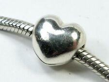 PANDORA CHARM SILVER GENUINE S925 ALE OPENING HEART CLIP 791279