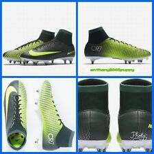 Nike Mercurial Victory VI CR7 DF SG vert jaune UK 8.5 Eur 43 (903607 373)