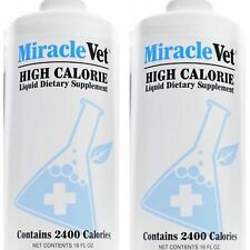Bully Max - Miracle Vet All-Natural Weight Gainer 2400 Calories EA (2 Bottles)