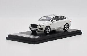 1:64 Bentley Bentayga SUV White Diecast Model Car Collection model