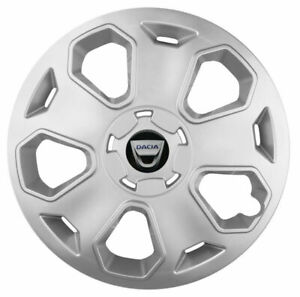Set of 16'' Wheel trims hub caps fit Dacia Duster ACCESS 2017 - on SILVER