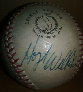 1960's WHITE SOX CUBS AUTOGRAPH BASEBALL Hoyt Wilhelm,Stewart,Dick Ellsworth+9
