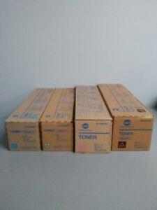 Konica Minolta TN-616K-L TN-616C-L TN-616M-L TN-616Y-L bizhub Pro C6000L