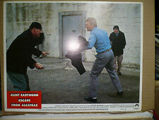 ESCAPE FROM ALCATRAZ, orig 1979 LC #2 (Clint Eastwood in knife fight)