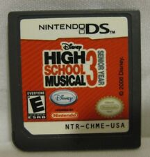 High School Musical 3: Senior Year (Nintendo DS, 2008) Game Only 100% Tested