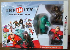Disney Infinity Starter Pack for Nintendo 3DS System with 3 Figures - NEW!