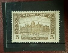 stamp - hungary 1916 early issue - 5k - sg 262  - MH -  Lot 381