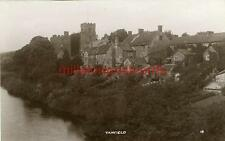 REAL PHOTOGRAPHIC POSTCARD OF TANFIELD, (NEAR BEAMISH), COUNTY DURHAM (1)