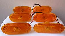 6x Orange Side LED Marker Light Lamp for MERCEDES SPRINTER - VW CRAFTER (4 LEDs)
