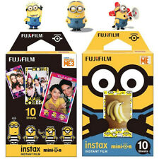 10X Movie Minions Yellow Fuji Instax Mini Instant Film For 7s 8 25 50s 90 SP-1