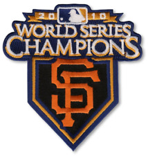 2010 World Series San Francisco Giants Champions Jersey Sleeve MLB Logo Patch
