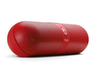 Beats by Dr. Dre Pill 2.0 Bluetooth Drahtloser Lautsprecher Rot Refurbished