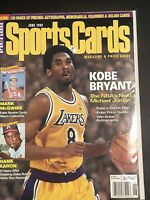 June 1999 Sports Cards Magazine With Kobe Bryant On Cover