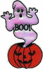 Ghost Jack-o-Lantern Pumpkin Halloween patch
