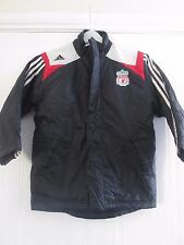 "Liverpool Puffer Zip Up Football Rain Jacket Childrens 26""-28"" chest /41064"
