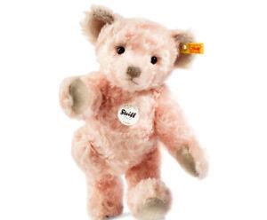 Steiff' Linda 'Classique Nounours Ours - Rose Mohair - 30cm - 000331