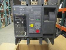 Westinghouse SPB65 1600A 3p 600V Pow-R Breaker EO/DO Pow-R-Trip 7 w/ LI Used