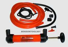 Umfüllpumpe für Benzin Öl Diesel Wasser Saugpumpe Hand Pumpe Luftpumpe