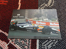 2005 WORLD SERIES BY RENAULT DRIVER INFO CARD - ADRIAN VALLES - PONS RACING