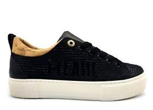 Scarpe da donna Alviero Martini 10692 sneakers casual sportive platform nero 39