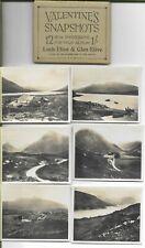 VALENTINE'S SNAPSHOTS  of  Loch Etive  -12  Scenic Views VINTAGE..COMPLETE SET