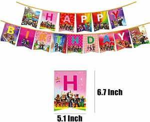 Themed birthday Party Happy birthday Banners .