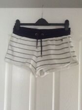 Ladies Women's Girls Striped Shorts Size XS From Soulcal & Co