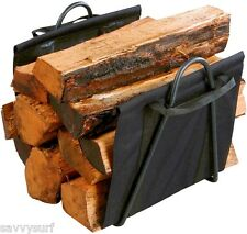 Registra vettore e log paniere in uno! log log Rack Titolare log Sling Fire Accessorio