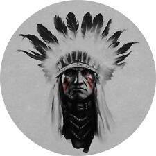 4x4 Spare Wheel Cover 4 x 4 Camper Graphic Vinyl Sticker Indians IN-2
