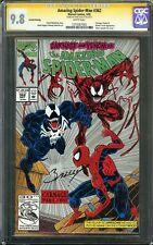 Amazing Spider-Man #362 CGC 9.8 SS MARK BAGLEY Carnage Venom App Marvel Comics
